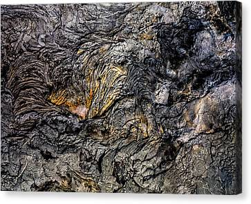 Canvas Print featuring the photograph Lava by M G Whittingham
