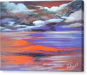 Lava Lagoon Canvas Print