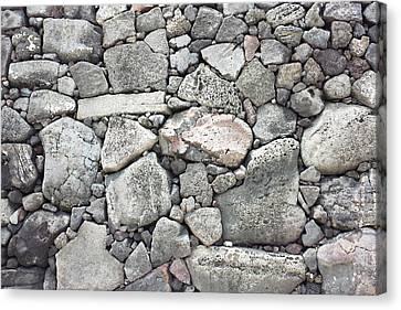 Lava Rock Wall 3 Canvas Print