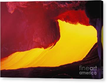 Lava Window Canvas Print by Erik Aeder - Printscapes