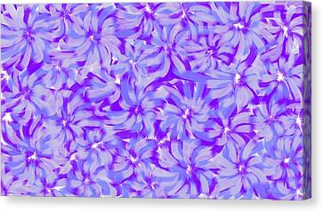 Lavender Blue 1 Canvas Print