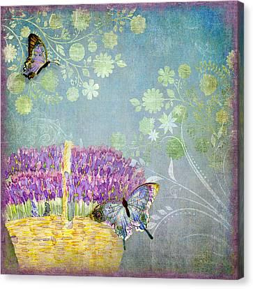 Lavender Dreams Canvas Print by Audrey Jeanne Roberts