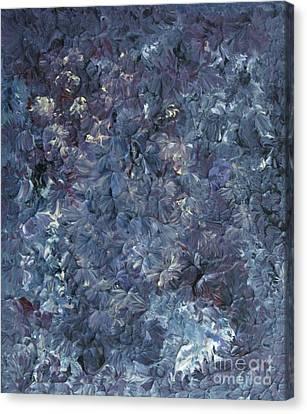 Lavender Garden Canvas Print by Shelly Wiseberg