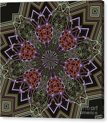 Lavender Mandala 1 Canvas Print