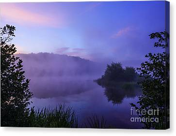 Lavender Mist Canvas Print by Thomas R Fletcher
