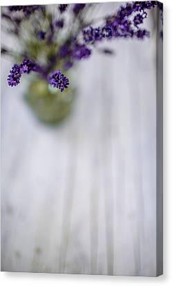 Lilac Canvas Print - Lavender Still Life by Nailia Schwarz