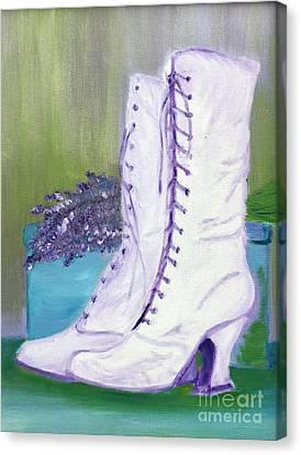 Lavender Wedding Canvas Print