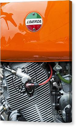 Laverda Sf 750cc Canvas Print by Tim Gainey