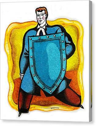 Lawyer Canvas Print by Leon Zernitsky