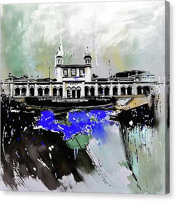Sikh Art Canvas Print - Layallpur District Council by Mawra Tahreem
