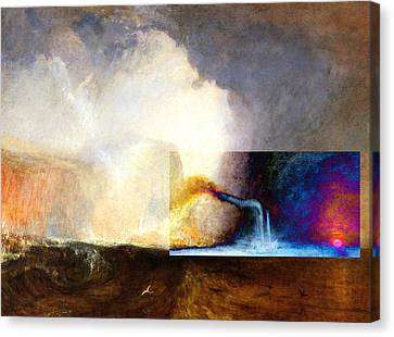 Layered 1 Turner Canvas Print by David Bridburg