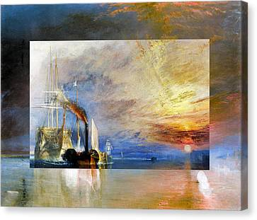 Layered 10 Turner Canvas Print