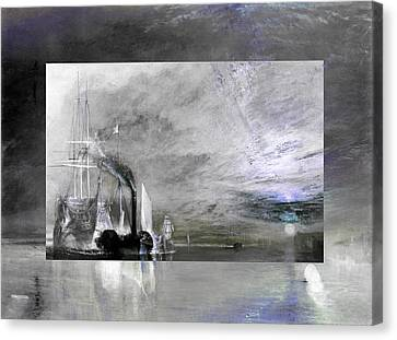 Layered 11 Turner Canvas Print