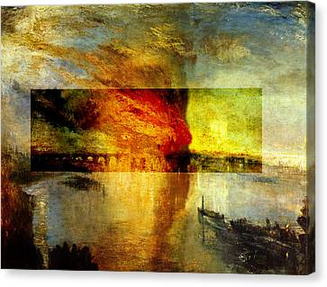 Layered 12 Turner Canvas Print by David Bridburg