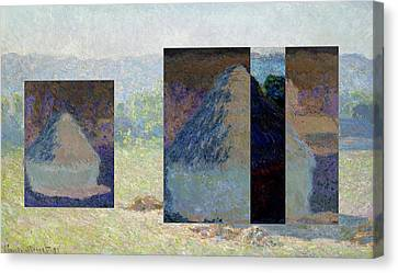 Layered 13 Monet Canvas Print