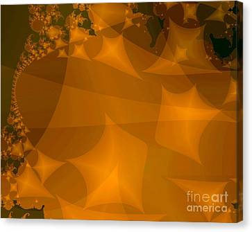 Layered Kite Formations Canvas Print by Ron Bissett