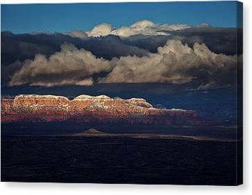 Canvas Print featuring the photograph Layered Light by Ron Chilston