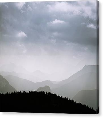 Canvas Print featuring the photograph Layers And Light by Alexander Kunz