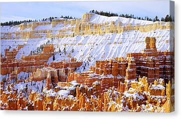 Canvas Print featuring the photograph Layers by Chad Dutson