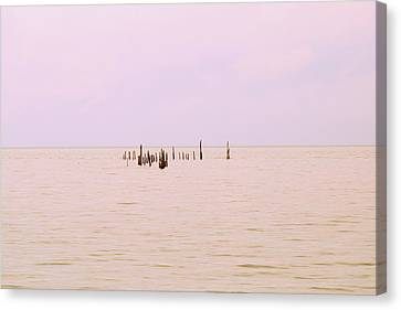 Canvas Print featuring the photograph Layers Of Calm by Deborah  Crew-Johnson