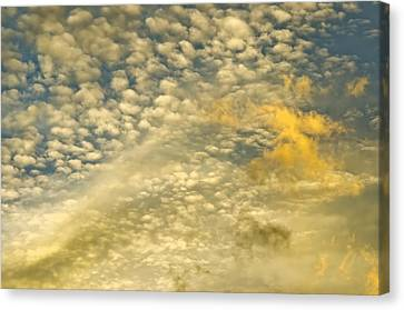 Canvas Print featuring the photograph Layers Of Sky by Wanda Krack