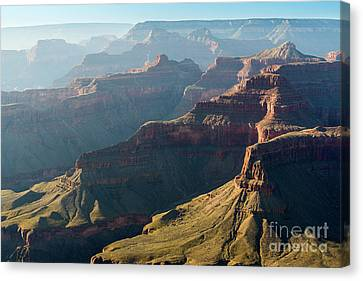 Layers Of The Canyon Canvas Print by Jamie Pham