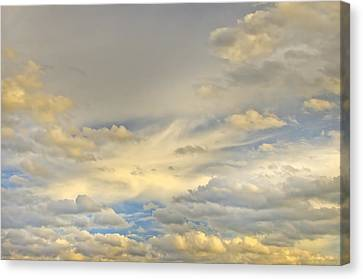 Canvas Print featuring the photograph Layers by Wanda Krack