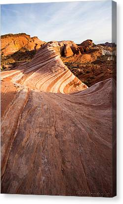 Layers Within Canvas Print by Bill Cantey