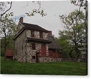 Layfayette's Headquarters At Brandywine Canvas Print