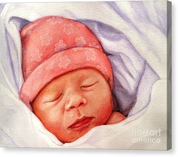 Layla Canvas Print by Marilyn Jacobson