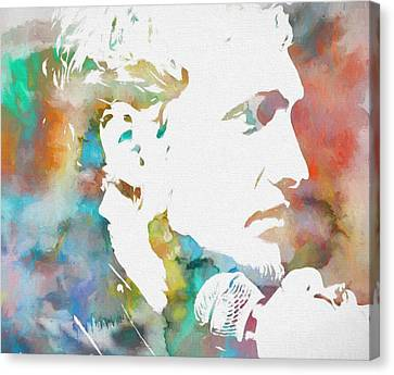 Layne Staley Canvas Print by Dan Sproul