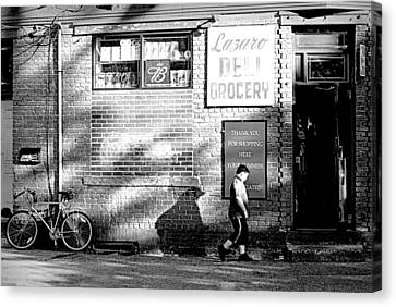 Grocery Store Canvas Print - Lazaro Deli by Diana Angstadt