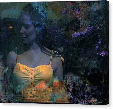 Lazer Canvas Print