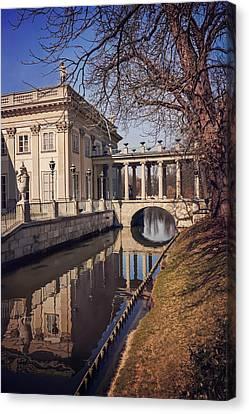 Lazienki Palace Warsaw Canvas Print