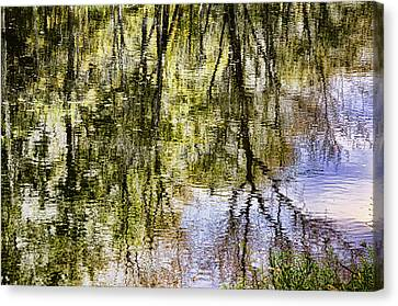 Canvas Print featuring the photograph Lazy Day by John Hansen