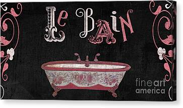 Le Bain Paris Sign Canvas Print by Mindy Sommers