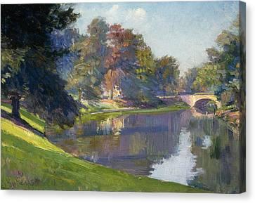 Le Bois De Bruxelles Canvas Print