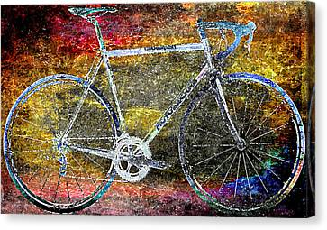 Le Champion Canvas Print by Julie Niemela