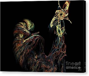 Le Coq Canvas Print by Dom Creations