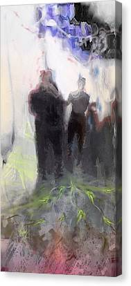 Le Depart Canvas Print