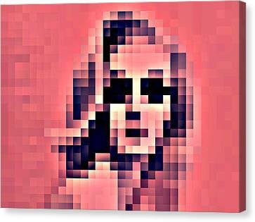 Sombre Canvas Print - Le Mannequin Sombre by M Pace