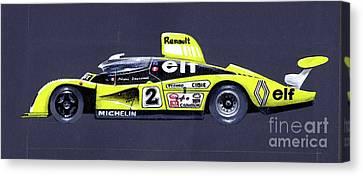 Le Mans 1978 Winner Profile Canvas Print
