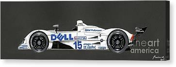 Le Mans 1999 Winner Profile Canvas Print