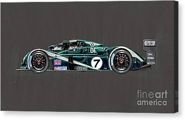 Le Mans 2003 Winner Profile Canvas Print