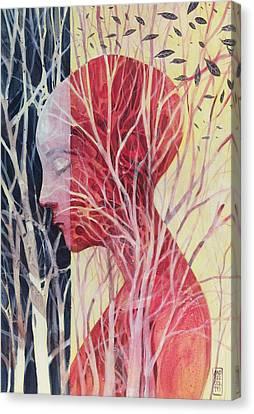 Le Mie Radici Canvas Print by Alessandro Andreuccetti