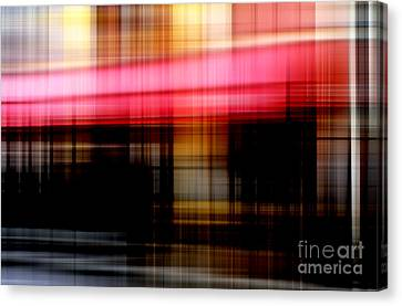 Le Mistral Cafe Canvas Print by John Rizzuto