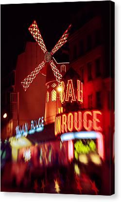 Le Moulin Rouge Canvas Print
