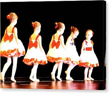 Le Petite Ballet Canvas Print by Margie Avellino