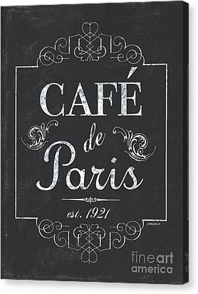 Interior Decor Canvas Print - Le Petite Bistro 3 by Debbie DeWitt
