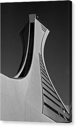 Canvas Print - Le Stade Olympique De Montreal by Juergen Weiss